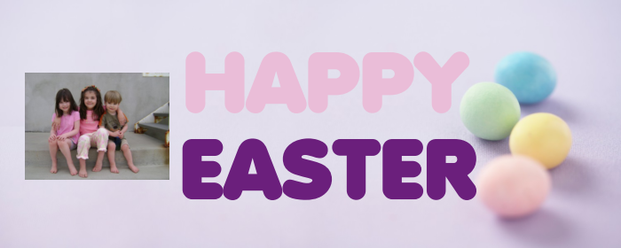 Happy Easter Banner from Banners on the Cheap