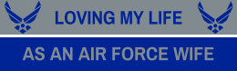 bumper stickers for air force